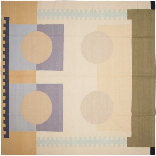 10×10 Nicholls Multi Color Oriental Square Rug 012970