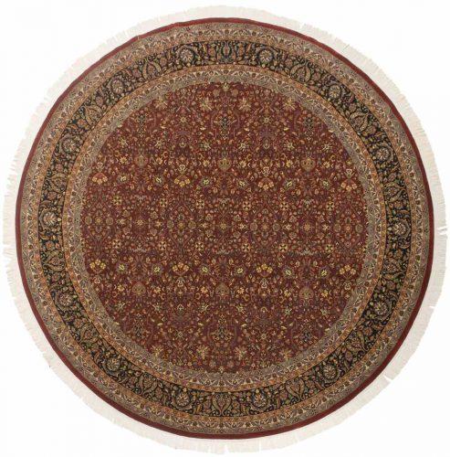 10×10 Tabriz Red Oriental Round Rug 039516