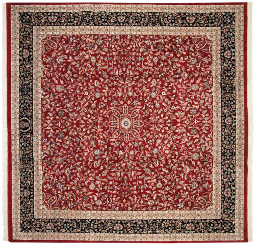 10×10 Tabriz Red Oriental Square Rug 016296