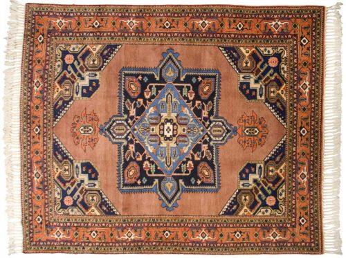 10×12 Persian Meshkin Rust Oriental Rug 035354