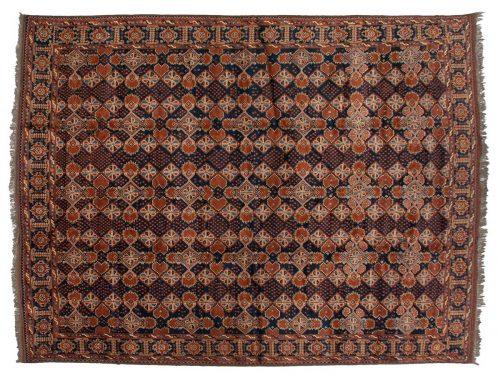 10×13 Taghan Blue Oriental Rug 025716
