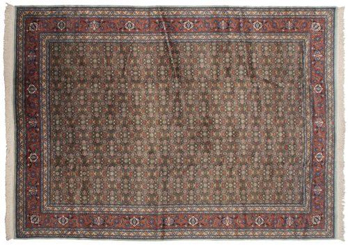 10×13 Bulgarian Green Oriental Large Rug 017232