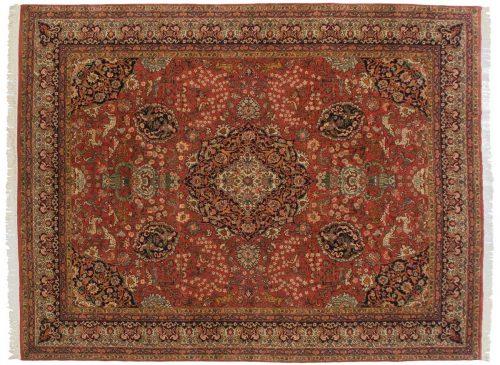10×13 Persian Red Oriental Rug 012415