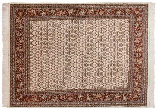 10×13 Sarouk Ivory Oriental Rug 033551