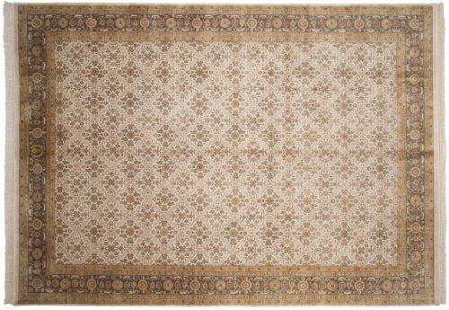 10×14 Agra Beige Oriental Large Rug 039129