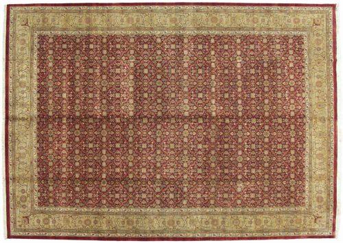 10×14 Agra Burgundy Oriental Rug 039672