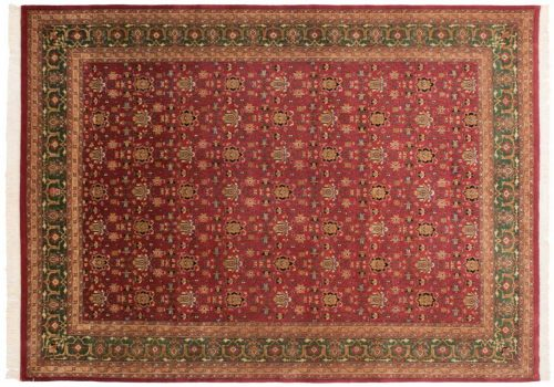 10×14 Bijar Burgundy Oriental Large Rug 037447
