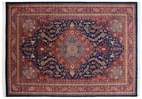 10×14 Tabriz Blue Oriental Large Rug 036119