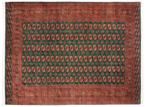 10×14 Bokhara Green Oriental Rug 021768