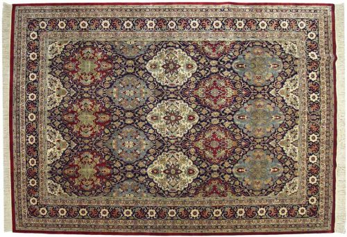 10×14 Dorasht Blue Oriental Large Rug 032444