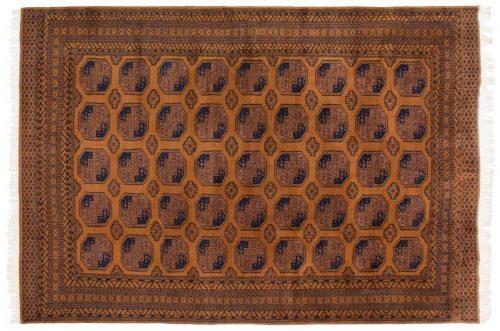 10×14 Afghan Gold Oriental Large Rug 014074