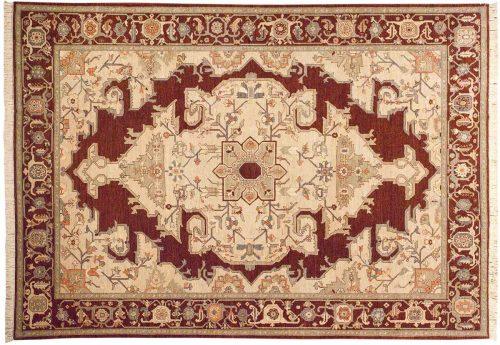 10×14 Heriz Brown Oriental Large Rug 020745