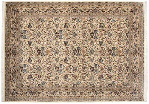 10×14 Nain Ivory Oriental Rug 014373
