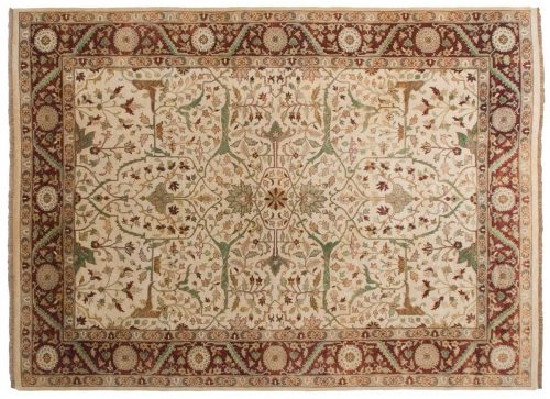 10×14 Bijar Ivory Oriental Rug 031908