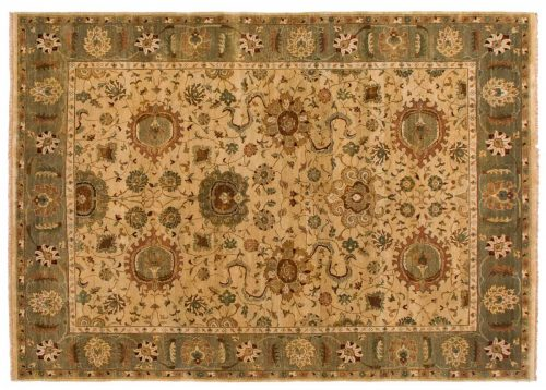10×14 Jaipur Gold Oriental Rug 028173