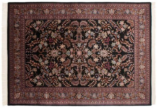 10×14 Kashan Black Oriental Large Rug 031540