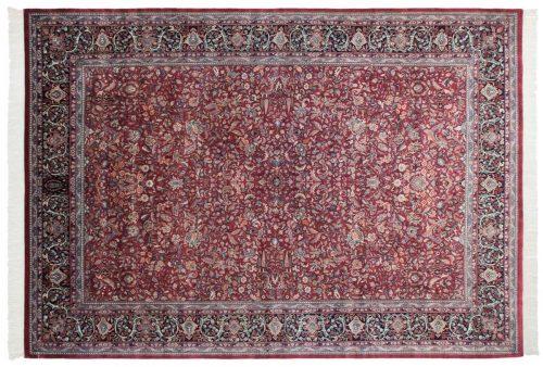 10×14 Kashan Burgundy Oriental Rug 032007