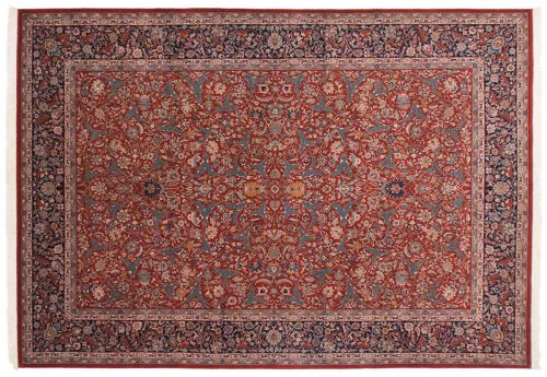 10×14 Kashan Red Oriental Large Rug 019737