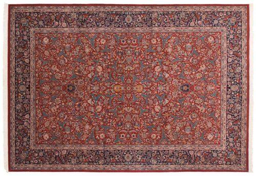 10×14 Kashan Red Oriental Large Rug 019737