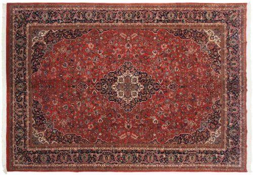 10×14 Kashan Red Oriental Large Rug 030885
