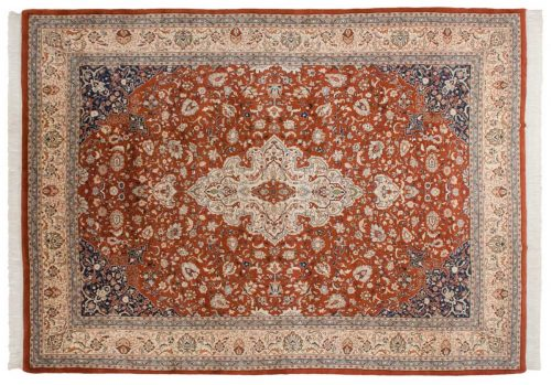 10×14 Kashan Rust Oriental Large Rug 033136