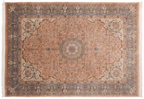10×14 Kerman Rose Oriental Large Rug 026245