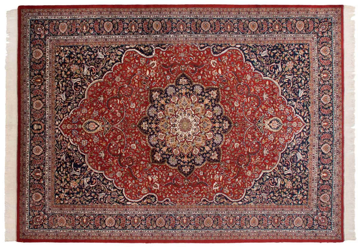10x14 Khorassan Red Oriental Large Rug 033996