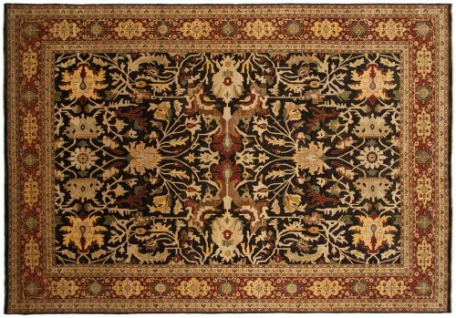 10×14 Mahal Brown Oriental Rug 043364