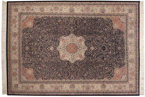 10×14 Kashan Blue Oriental Rug 034394