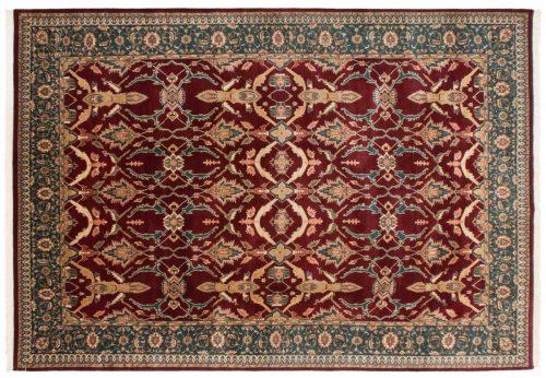 10×14 Persian Burgundy Oriental Rug 014184