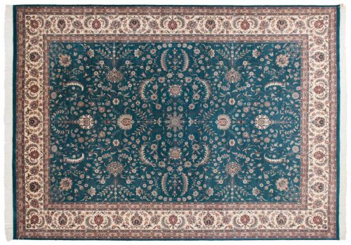 10×14 Persian Green Oriental Large Rug 030387