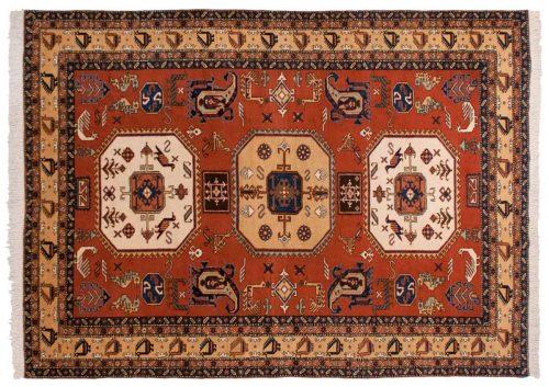 10×14 Persian Katbaft Rust Oriental Large Rug 035437
