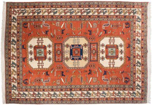 10×14 Persian Meshkin Rust Oriental Large Rug 035352