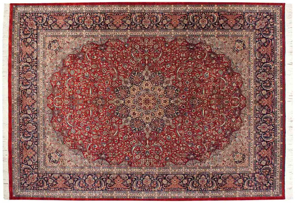 10x14 Persian Red Oriental Large Rug 021662