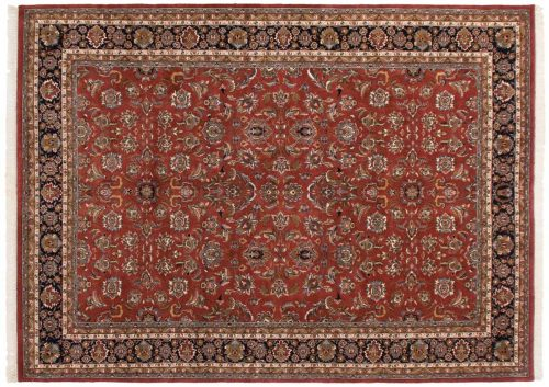 10×14 Isfahan Red Oriental Large Rug 016243
