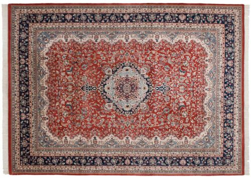 10×14 Kerman Red Oriental Large Rug 023934