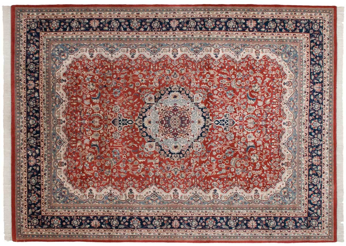 10x14 Kerman Red Oriental Large Rug 023934