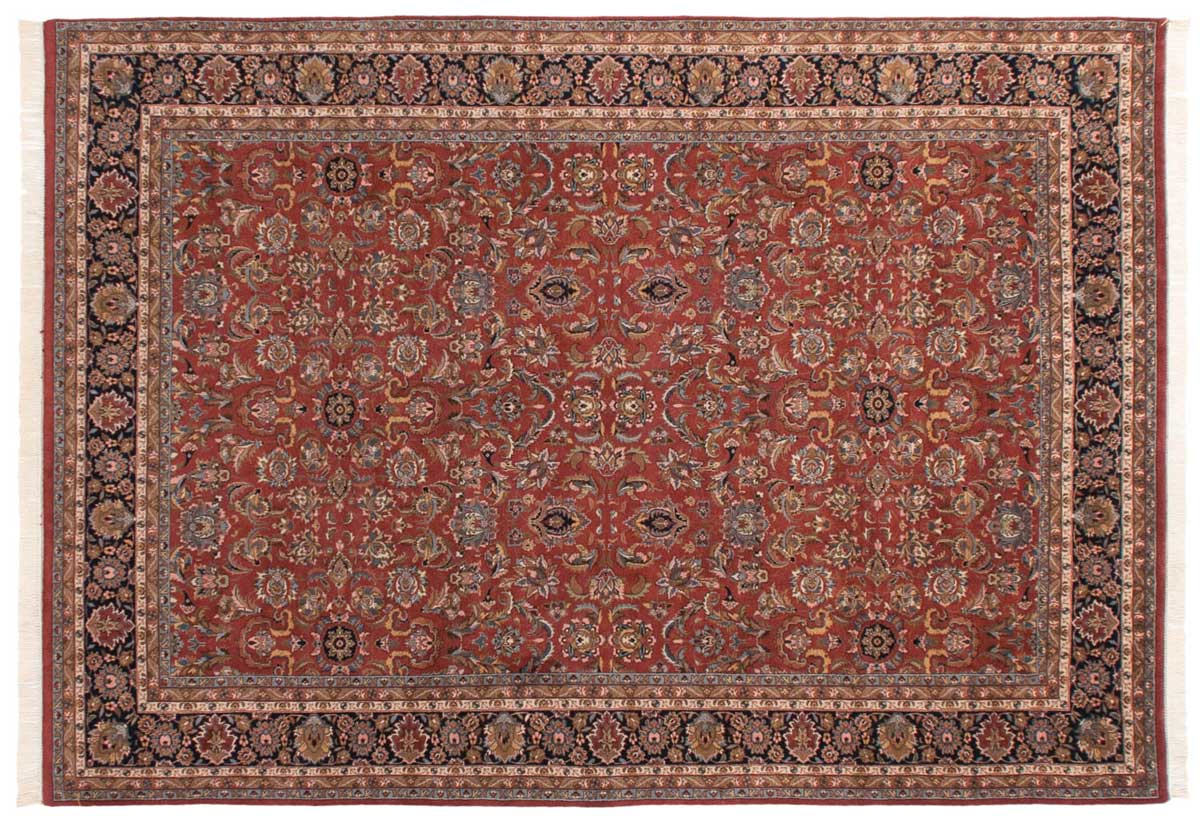 10x14 Isfahan Red Oriental Rug 016226
