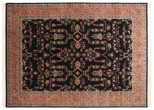 10×14 Sarouk Black Oriental Rug 031368