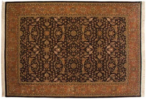 10×14 Sarouk Brown Oriental Rug 032816
