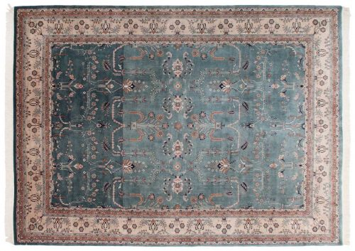 10×14 Sarouk Green Oriental Rug 030795