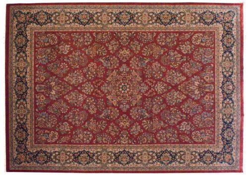 10×14 Sarouk Red Oriental Rug 040474