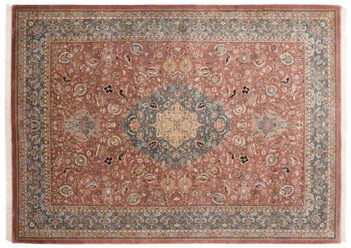 10×14 Tabriz Rust Oriental Large Rug 036813