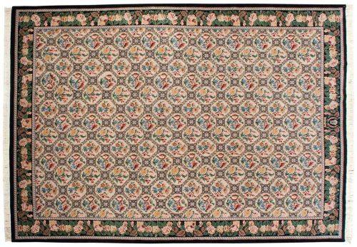 10×14 Trellis Ivory Oriental Rug 037279