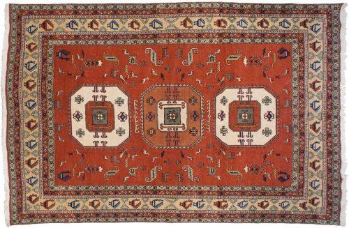 10×15 Persian Meshkin Rust Oriental Large Rug 021196