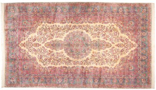 10×17 Persian Kerman Ivory Oriental Large Rug 017515
