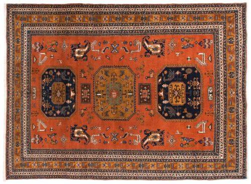 11×15 Persian Ardebil Rust Oriental Large Rug 035351