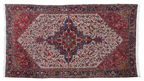 11×20 Persian Mehrivan Ivory Oriental Oversize Rug 034867
