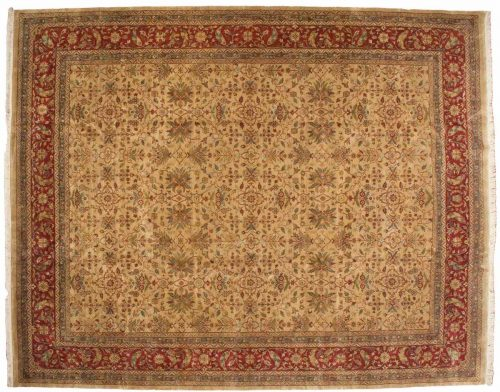 12×15 Agra Gold Oriental Large Rug 039337