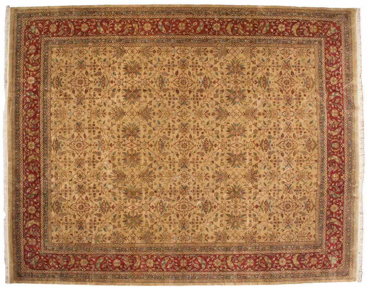 12x15 Agra Gold Oriental Large Rug 039337